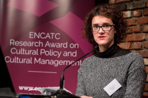 2015 ENCATC Research Award Winner, Alessia Usai